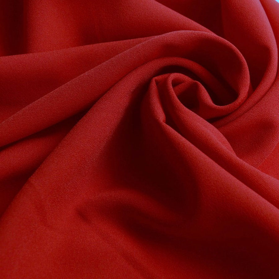 """Dressmaking Fabric Red Cotton Material 57"""" Wide Craft Sewing Drape By The Metre"""