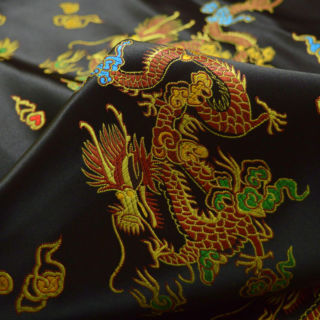 Photography of Chinese Oriental Dragon - Black