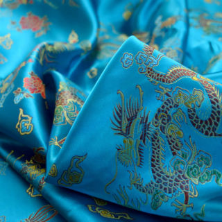 Photography of Chinese Oriental Dragon - Turquoise