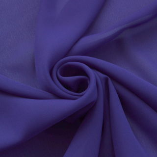 Photography of Georgette Dress Fabric - Dark Purple