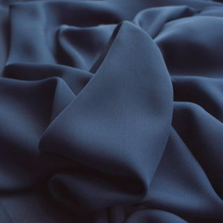 Photography of Georgette Dress Fabric - Navy