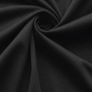 Photography of Mercerised Cotton Jersey - Black II