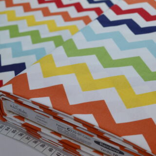 Photography of Riley Blake - Chevron - Rainbow