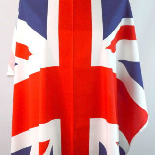 Photography of Riley Blake - Union Jack Flag - Red, Blue & White