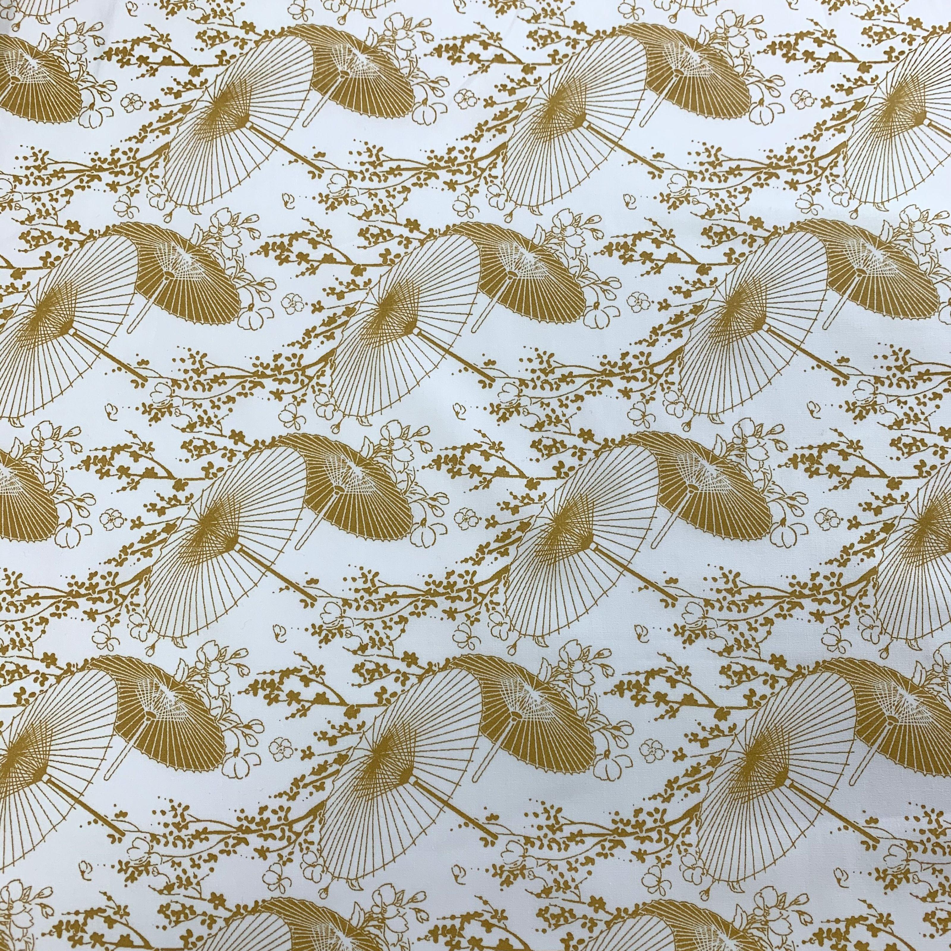 Cream Chambrey Cotton Fabric 115cm wide