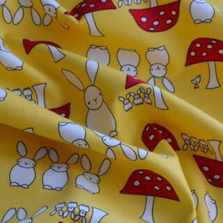 Photography of Poplin Prints - Cottontail Yellow