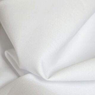 Photography of Superior Quality White Cotton Poplin