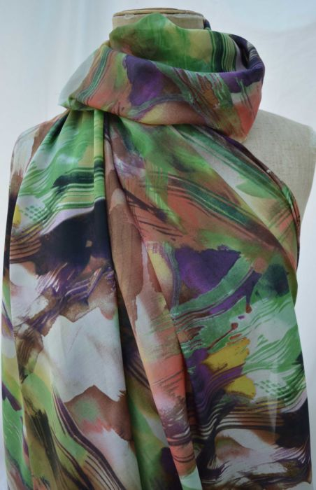 A-Rarity---Brushstrokes-abstract---Cotton-Silk---Lawn---Dress-Fabric---m