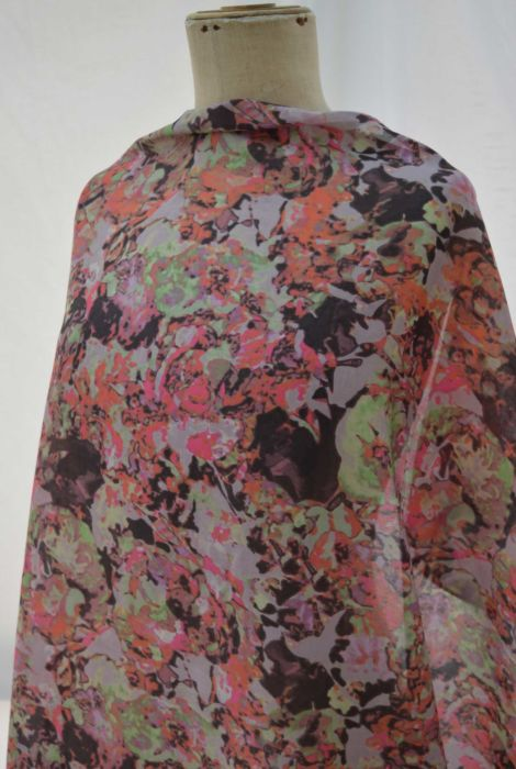 A-Rarity---Mink-Pink-abstract---Cotton-Silk---Lawn---Dress-Fabric---m