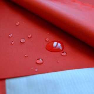 Photography of Waterproof Breathable Ripstop Red
