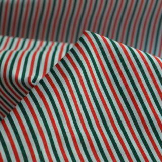 Photography of Christmas Poly/cotton - Multi stripe