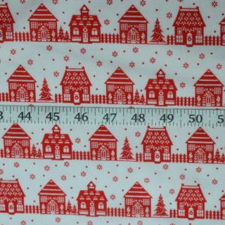Photography of Set Piece - Christmas Poly/cotton - Winter Days -White 1.3m