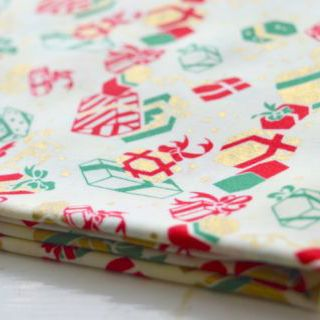 Photography of Clothworks - All Wrapped Up - Presents Cream