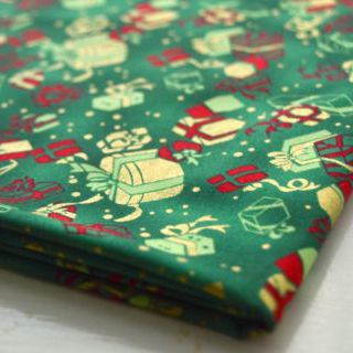 Photography of Clothworks - All Wrapped Up - Presents Green