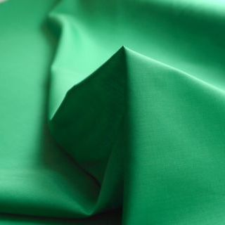 Photography of Superior Quality Plain Poly/Cotton - Emerald Green