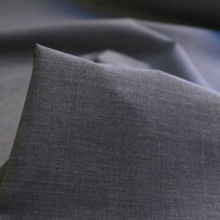 Photography of Superior Quality Plain Poly/Cotton - Dark Marled Grey