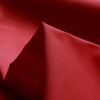 Photography of Superior Quality Plain Poly/Cotton - Red