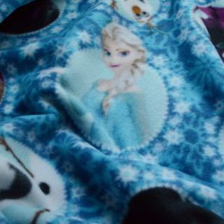 Photography of Cuddle Fleece- Springs Creative - Frozen Characters 1.3m set piece