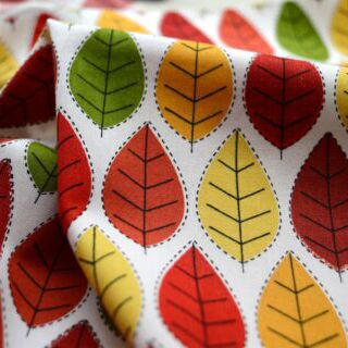 Photography of Poplin Prints - Conran - Autumn