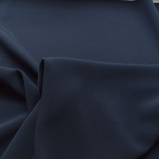 Photography of Luxury Satin Backed Crepe - Navy