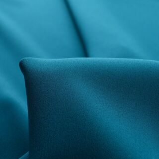 Photography of Set Piece - Luxury Satin Backed Crepe - Teal 1.4m