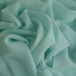 Photography of Georgette Dress Fabric - Aqua