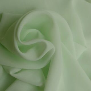 Photography of Georgette Dress Fabric - Glacier