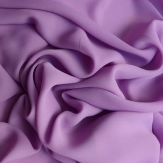 Photography of Georgette Dress Fabric - Light Lilac