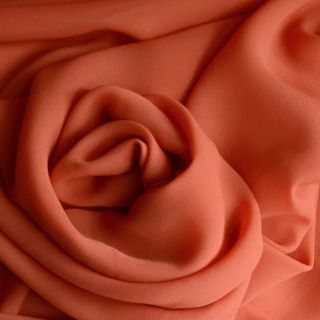 Photography of Georgette Dress Fabric - Mandarin