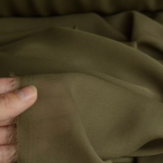 Photography of Georgette Dress Fabric - Taupe