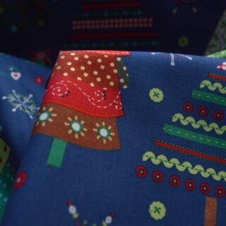 Photography of Christmas Cotton - Big One Blue