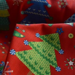 Photography of Christmas Cotton - Big One Red