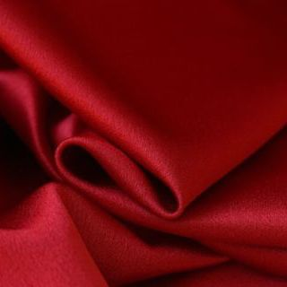 Photography of Luxury Satin Backed Crepe - Red