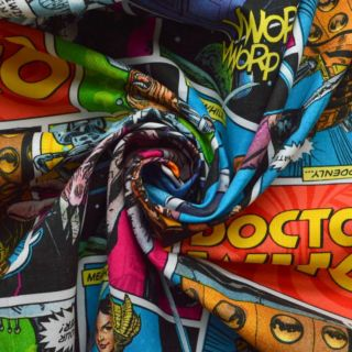 Photography of Spring Creative - Dr Who Comic Cotton
