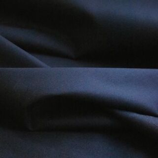 Photography of Plain Dyed Cotton Poplin - Dark Navy