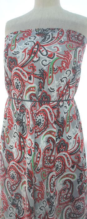 Ave Maria - Floral Paisley - M