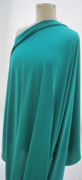 Viscose Jersey- Emerald Green M