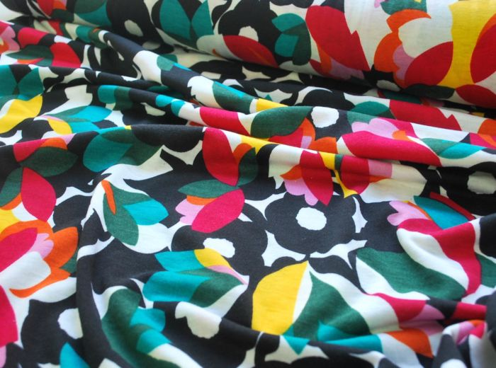 Boo - Polyester Jersey Dress Fabric