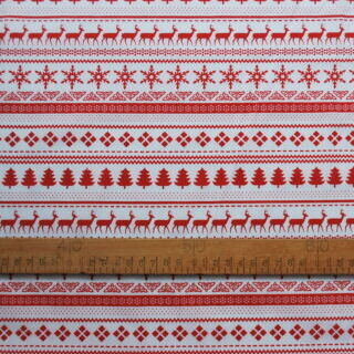 Photography of Christmas Poly/cottons - Christmas jumper- White 2m set piece