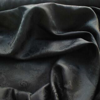 Photography of Paisley Changeant Linings - Black