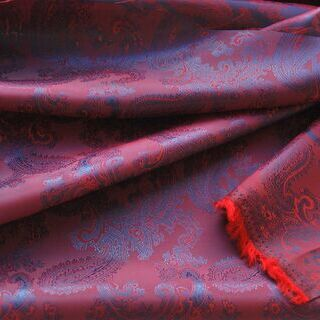 Photography of Paisley Changeant Linings - Purple 2.7 m set piece