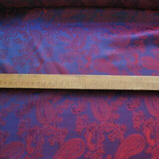 Photography of Paisley Changeant Linings - Purple