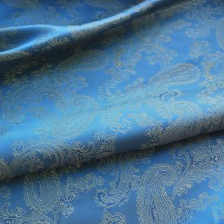 Photography of Paisley Changeant Linings - Blue