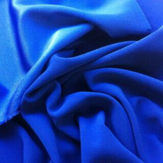 Photography of Set Piece - Luxury Satin Backed Crepe - Royal 1m