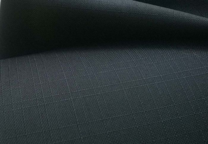 Black Ripstop Fabric