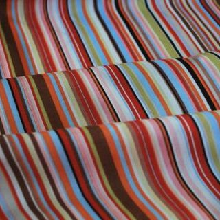 Photography of Poplin prints - Stripe - Multi