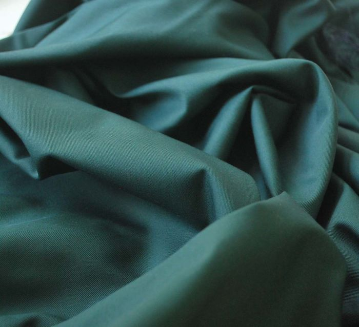Lotta Bottle - Cotton poly green trousering