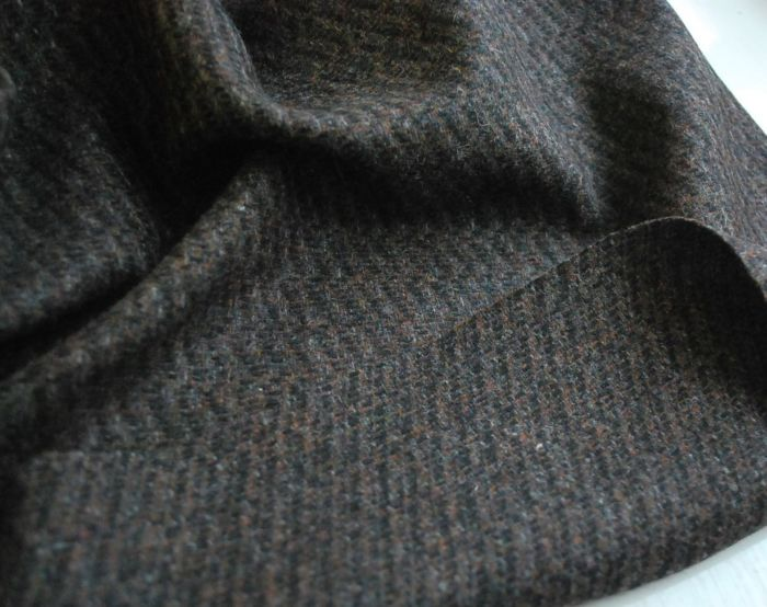 A Rare and Beautiful Thing Highland Tweed Wool Fabric cu