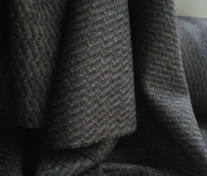 A Rare and Beautiful Thing Highland Tweed Wool Fabric d