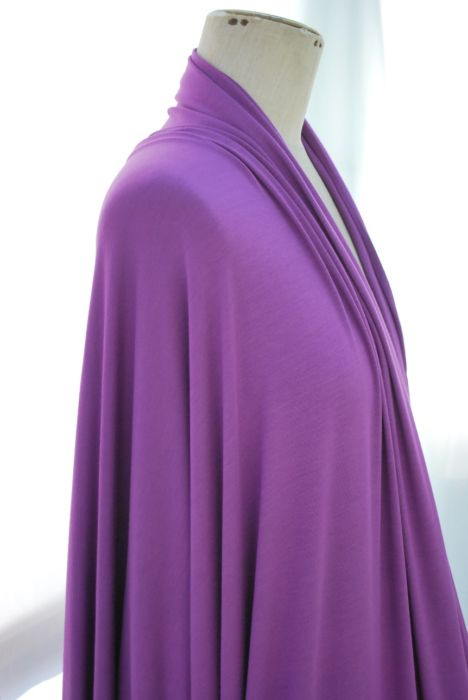 Togetherness purply lilac viscose jersey m